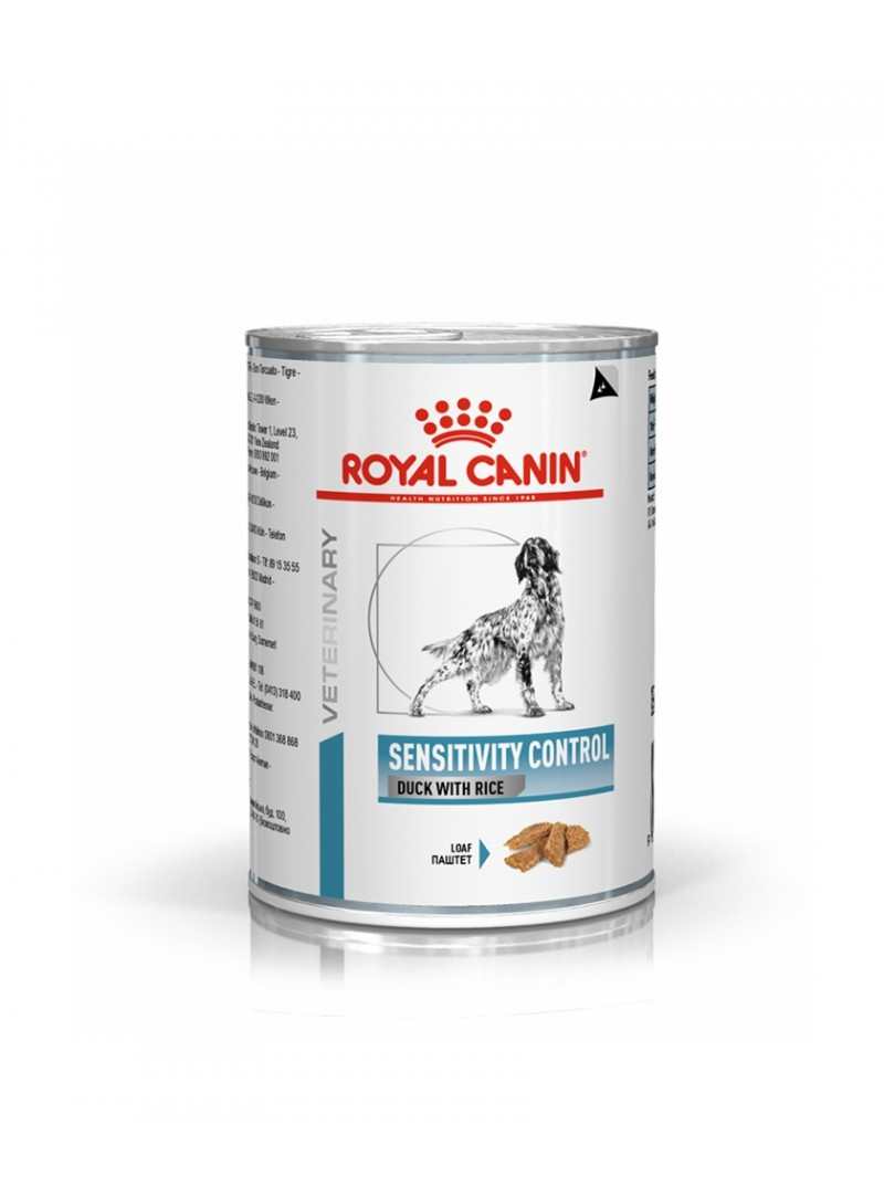 ROYAL CANIN DOG SENSITIVITY CONTROL DUCK WITH RICE - 420gr - RC511702
