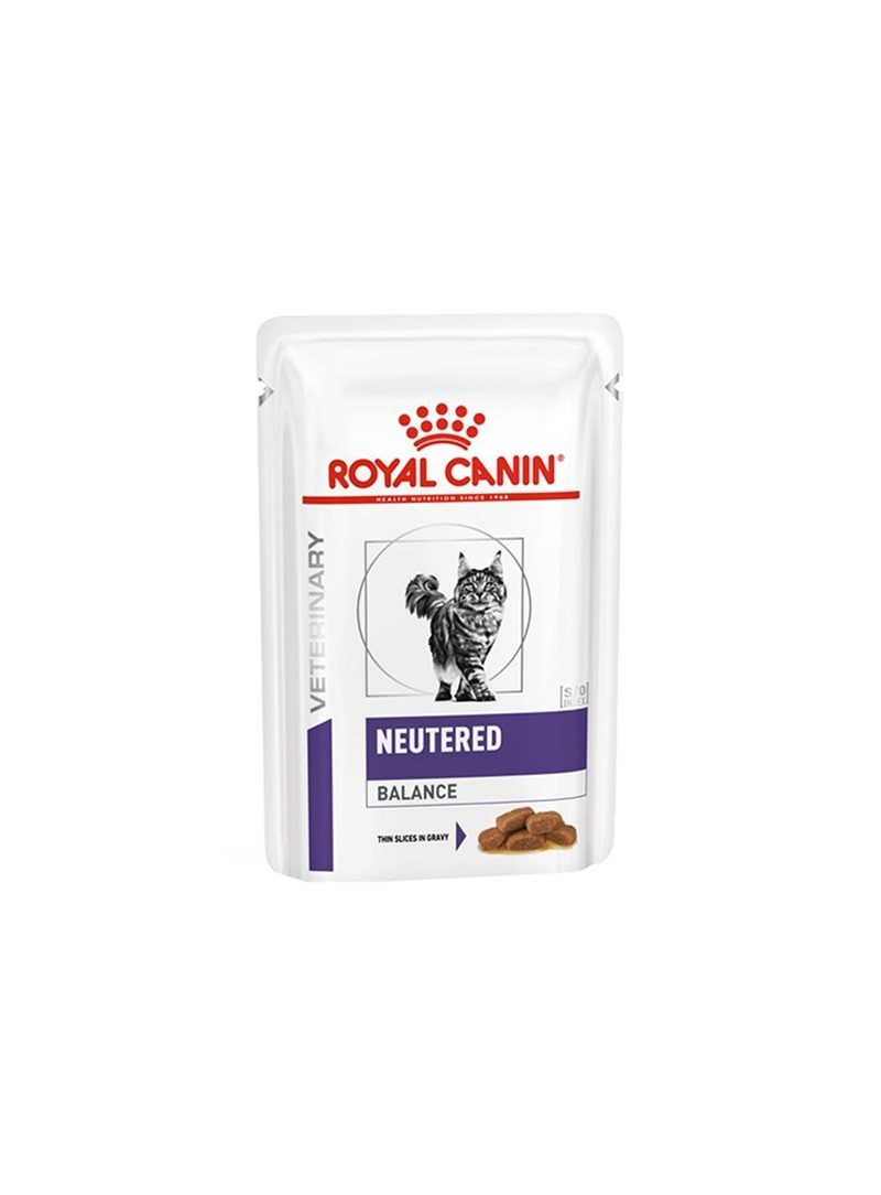 ROYAL CANIN NEUTERED BALANCE CAT   SAQUETA - 85gr - RCNTB85