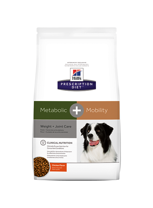 Hill's Canine Metabolic + Mobility-HIMETAPM4