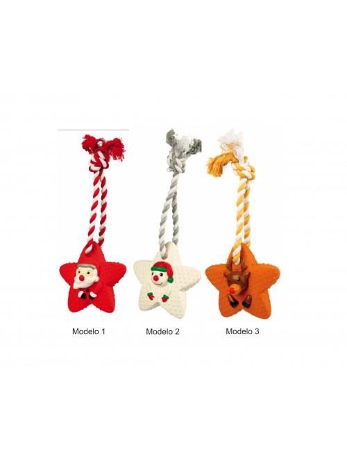 Estrelas de Natal em látex e corda-TX924811