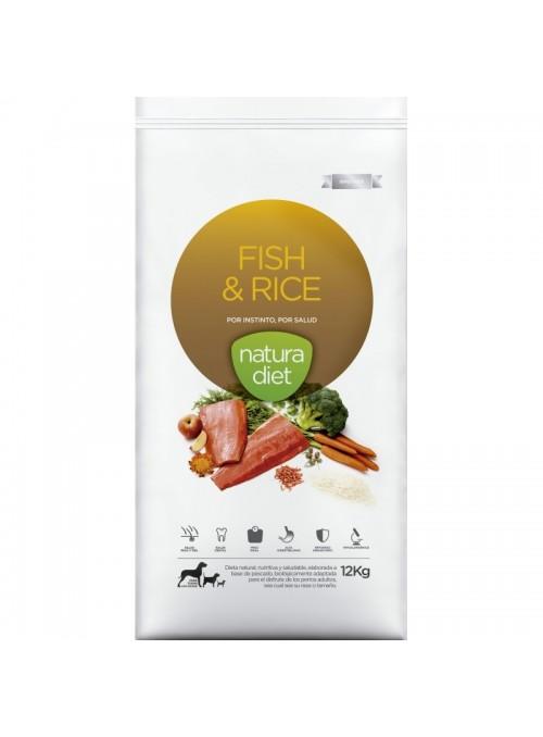 Natura Diet Fish & Rice-NDDF134