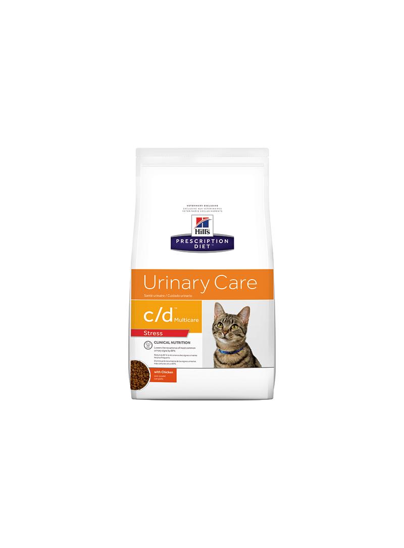 Hill's c/d Urinary Stress Feline-HICDURIS4