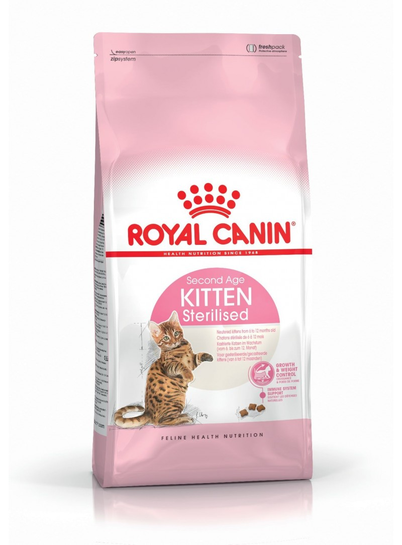 Royal Canin Kitten Sterilised-RCKST0400