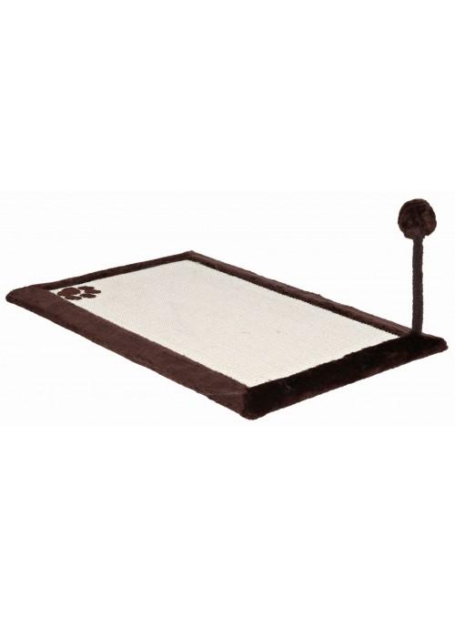 Tapete De Arranhar 70 x 45 Cm (Castanho Escuro)-TX4323