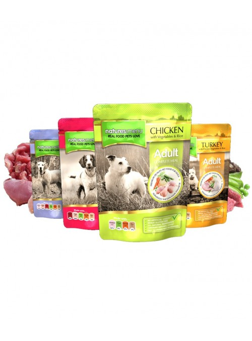 Natures Menu Dog Multipack 8 x 300gr | Saqueta-NMA107