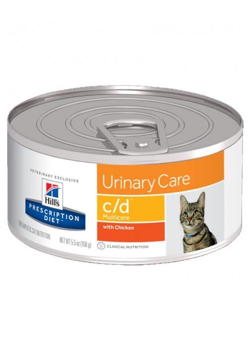 Hill's C/D Multicare Chicken Cat   Lata-HIFCDP