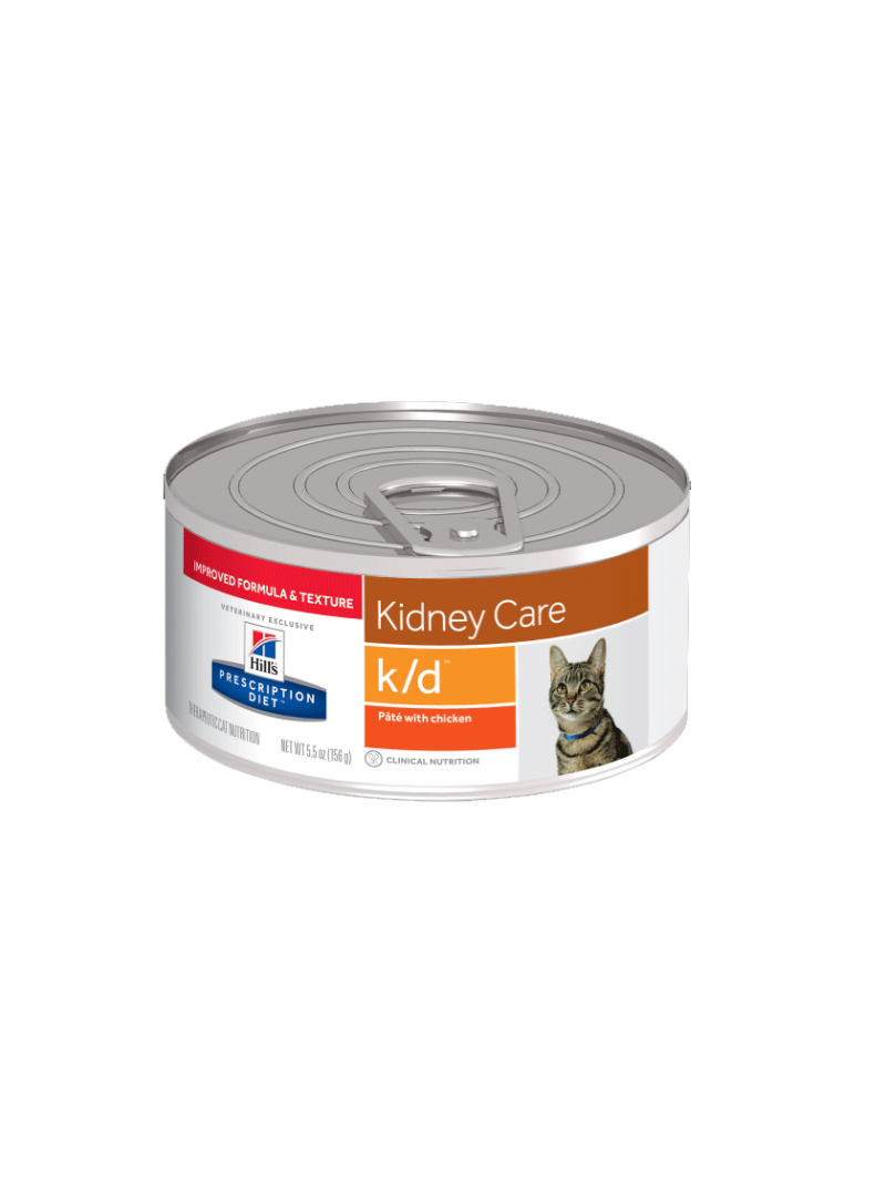 Hill's Cat  K/D Kidney Care Chicken     Lata-RACFEKD156G