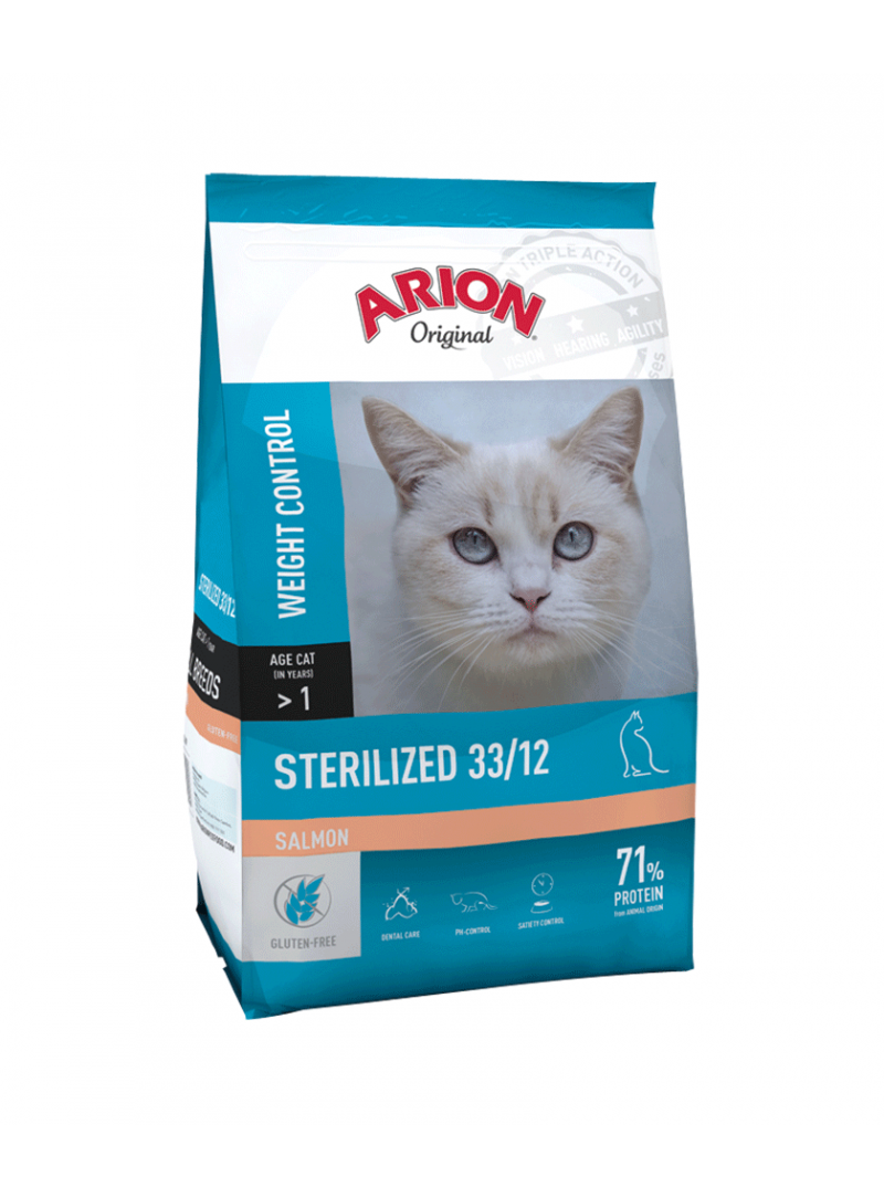 Arion Original Cat Sterilized Salmon-F080300