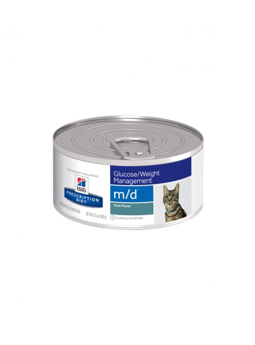 Hill's Cat M/D Diabetes/Excesso de Peso - Lata-FFMDMLP