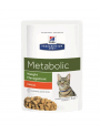 Hill's Cat Metabolic - Saqueta-ILMETFE85