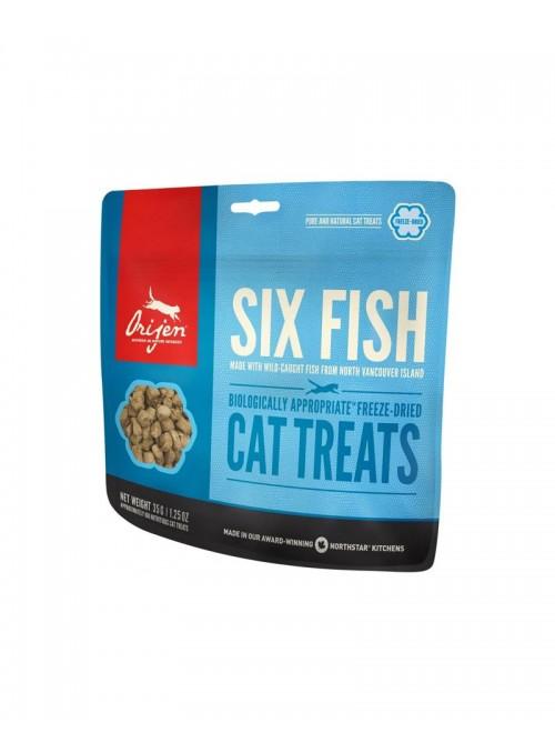 Orijen Treat Cat 6 Fish-ORT401