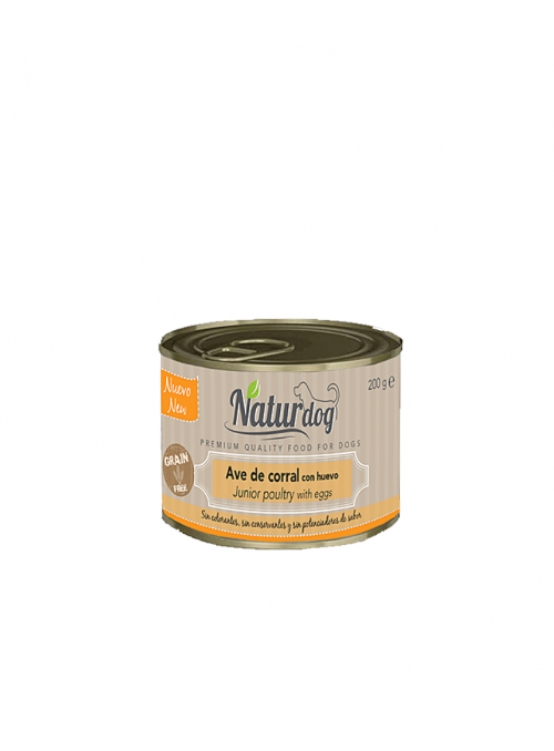 NaturDog Premium Junior - Lata-W0008