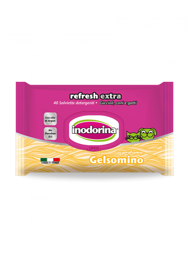 Inodorina Extra Toalhetes Jasmim-PET100151