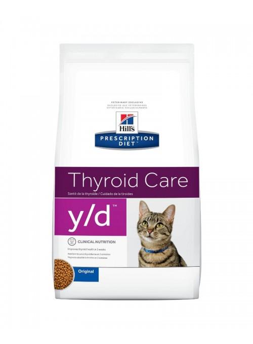 HILLS CAT Y/D - TIRÓIDE