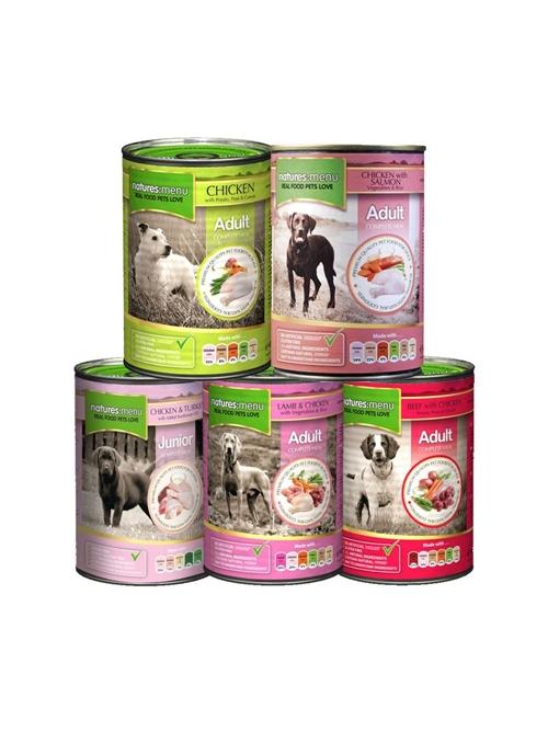 NATURES MENU DOG | LATA - Vaca e Frango - 400gr - NMA501