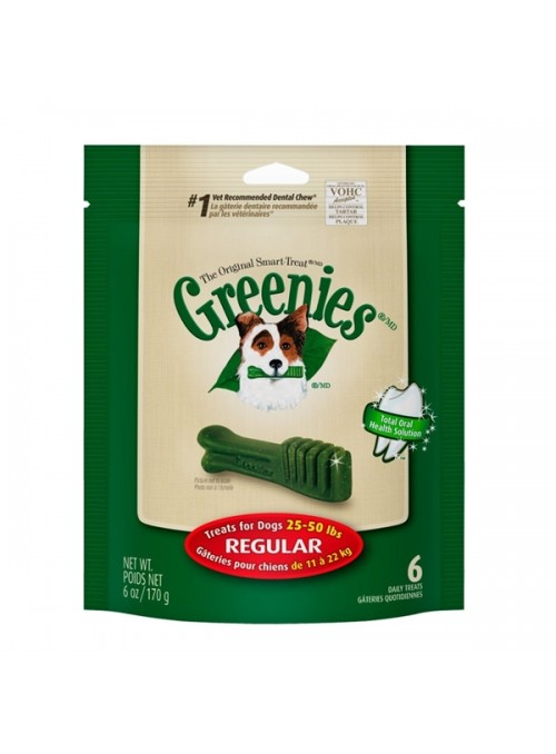 GREENIES DOG TREATS REGULAR - 6 unidades - G10107446