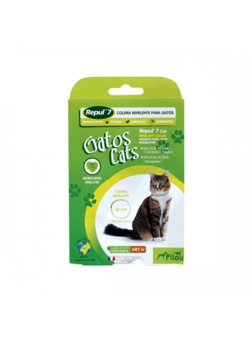 PILOU REPUL 7 CAT COLEIRA REPELENTE - R163576