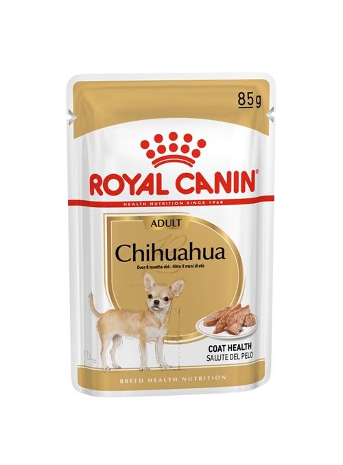 ROYAL CANIN CHIHUAHUA ADULT | SAQUETA - 85gr  |  Validade 14/02/2020 - RCCHI85