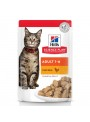 HILLS SCIENCE PLAN CAT ADULT CHICKEN - SAQUETA - 85gr - HSQ60