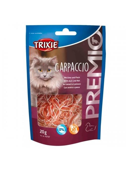 TRIXIE CAT SNACK PREMIO CARPACCIO - Pato e Peixe - 20gr - TX42707