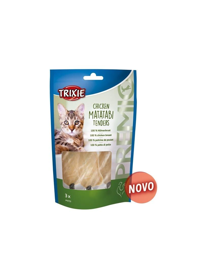 TRIXIE CAT SNACK PREMIO CHICKEN MATATABI TENDERS - 55gr - TX42753
