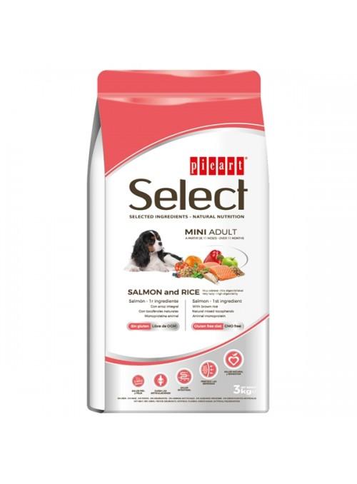 PICART SELECT DOG ADULT MINI SALMON - 3kg - P52209